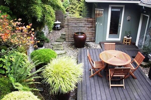 Taman rumah minimalis moder