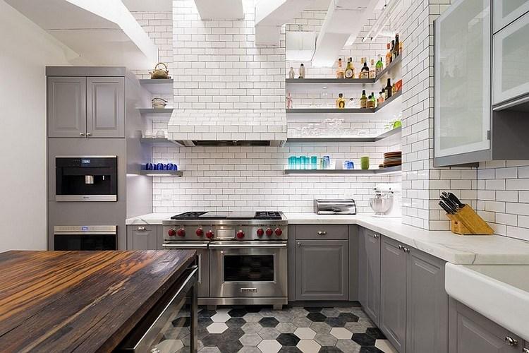 kitchen set yang berbentuk L siku