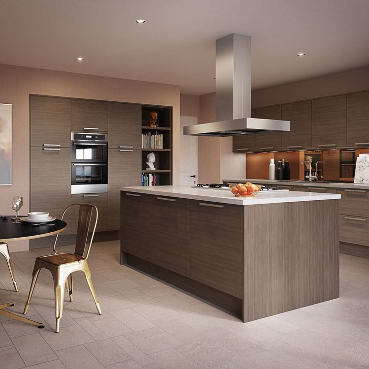 kitchen set modern dengan model terbau